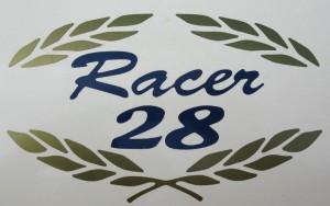 Racer 28 emblem