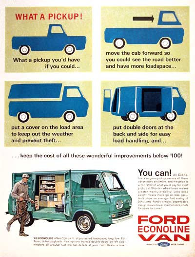 A period advert describes well the features of this utilitarian vehicle