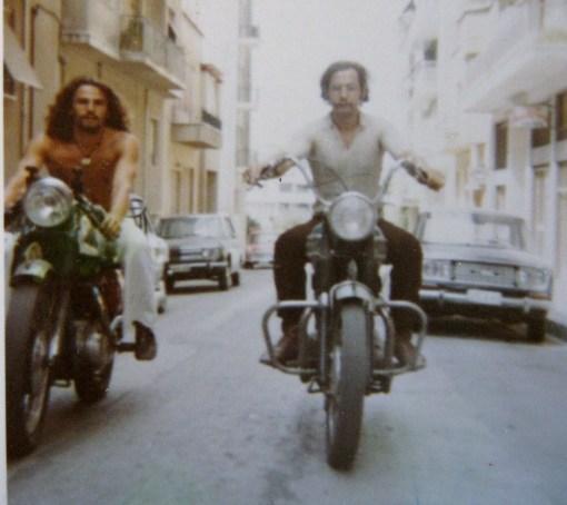 Yiorgo & Byron riding