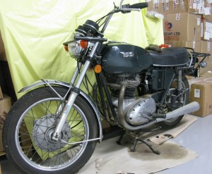 BSA 650 ccThunderbolt (single carb) 1972