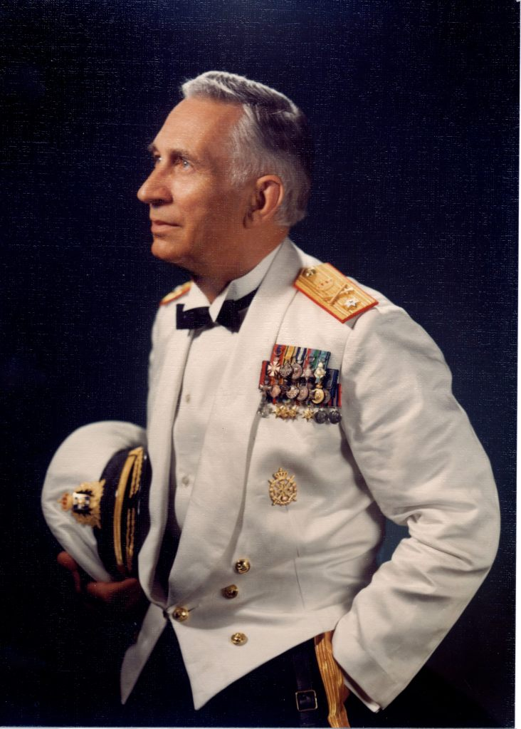 Our beloved Uncle Costas Iliades in Admiral uniform