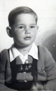 Byron in 1954, four years old