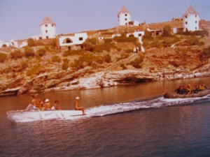 Klaus Dive School at Kea Beach Hotel ca. 1981