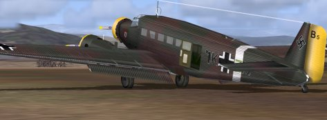 A WW II Luftwaffe period Ju 52