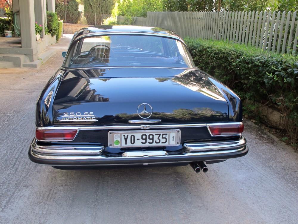 The Mercedes 250 SE Coupé is a roller! (4/6)