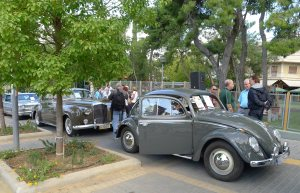 The finished 1962 VW Beetle made its first 'after the restoration' appearance during the '9th Concours d'Elegance PHILPA 2012'.