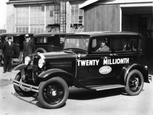 The Twenty Millionth Ford Model A was a Fordor!