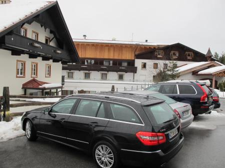 Third day outing: a visit to Kitzbuhel