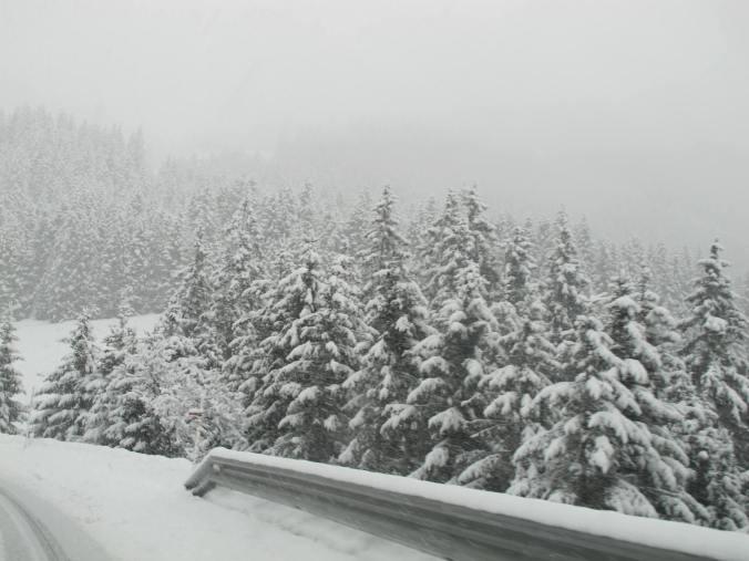 Making the Alpine scene even more dramatic!