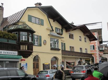 Kitzbuhel street scene