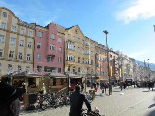 Innsbruck street scene