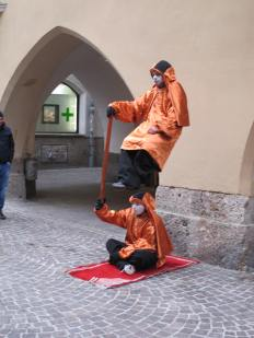 Innsbruck street scene: magic or hoax?