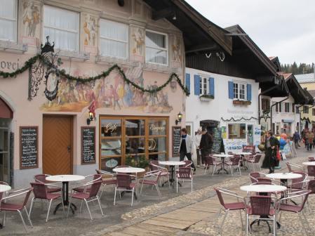 Mittenwald street scene