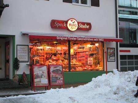 Speck house in Seefeld
