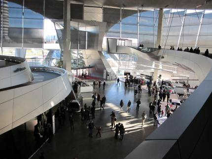 Scene from the BMW Welt