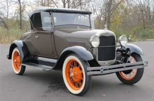 1929 Ford Mod. A Roadster
