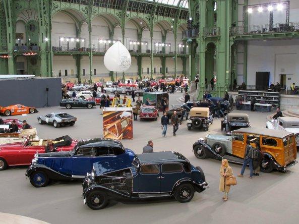 Μια άποψη του χώρου της δημοπρασίας των Bonhams στο Grand Palais