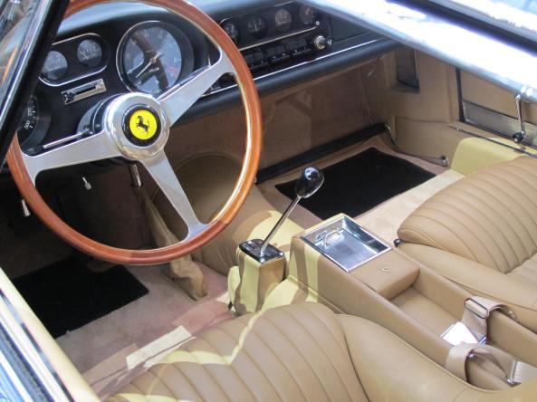 Το εσωτερικό της Ferrari 275 GTB/4 του 1968