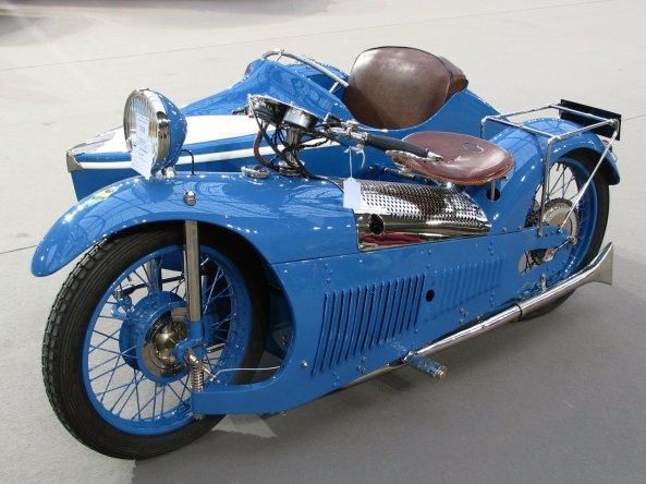 Μια σπάνια μοτοσικλέτα με ΄καλάθι΄, Majestic του 1930 with sidecar by Bernadet στη δημοπρασία των Bonhams.