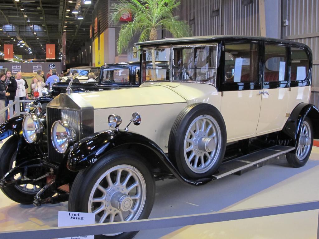 1926 RollsRoyce Phantom 1 του Maharanee Indira Raje de Cooch Behar Rupali et Shefali Prakash, Bangalore, India.