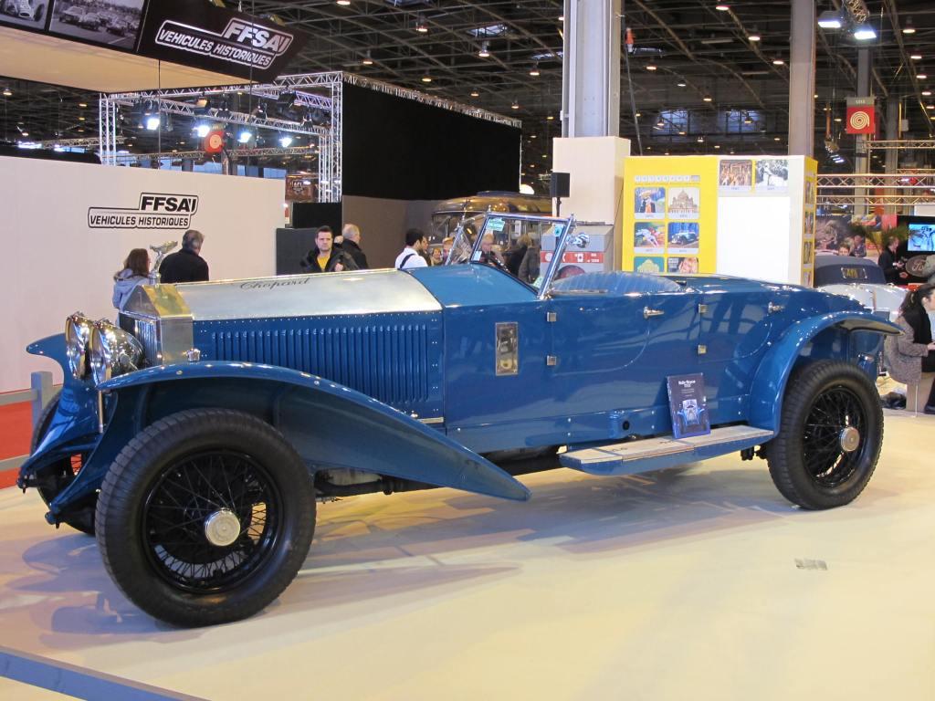 1928 Rolls Royce 17 EX του Maharadja Hari Singh de Jammu et Kashmir, Alexander Schaufler.