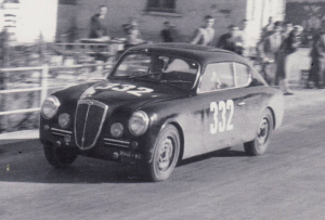 In the 1951 Mille Miglia, Giovanni Bracco and Umberto Maglioli, driving the B20 GT Series I (1991cc, 91bhp) with No. 332 finishing second behind the Scuderia Ferrari 340 America! It was the first appearance of the Aurelia Series I.