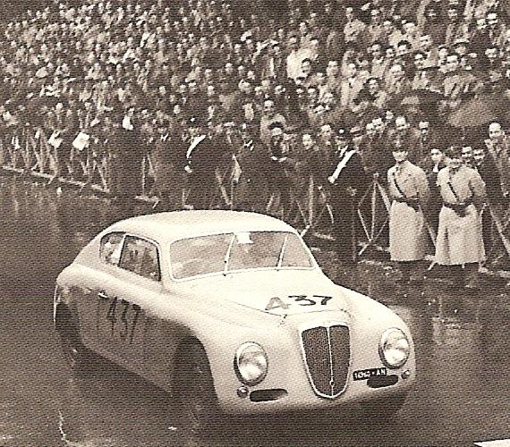 The B20GT Series II in the 1952 Mille Miglia of Luigi Fagioli & Vincenzo Borghi