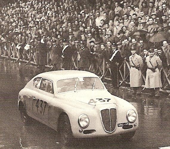 The B20GT Series II in the 1952 Mille Miglia of Luigi Fagioli & Vincenzo Borghi