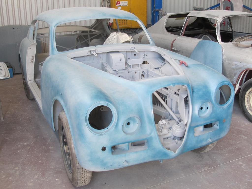 The Lancia Aurelia B20S as we first saw her (end Feb. 2014)