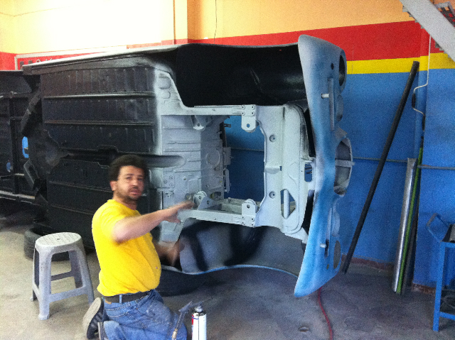 Progress for the 1957 Lancia Aurelia B20S, Ser.VI restoration project (2/6)