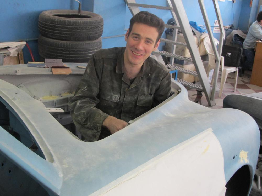 Progress for the 1957 Lancia Aurelia B20S, Ser.VI restoration project (3/6)