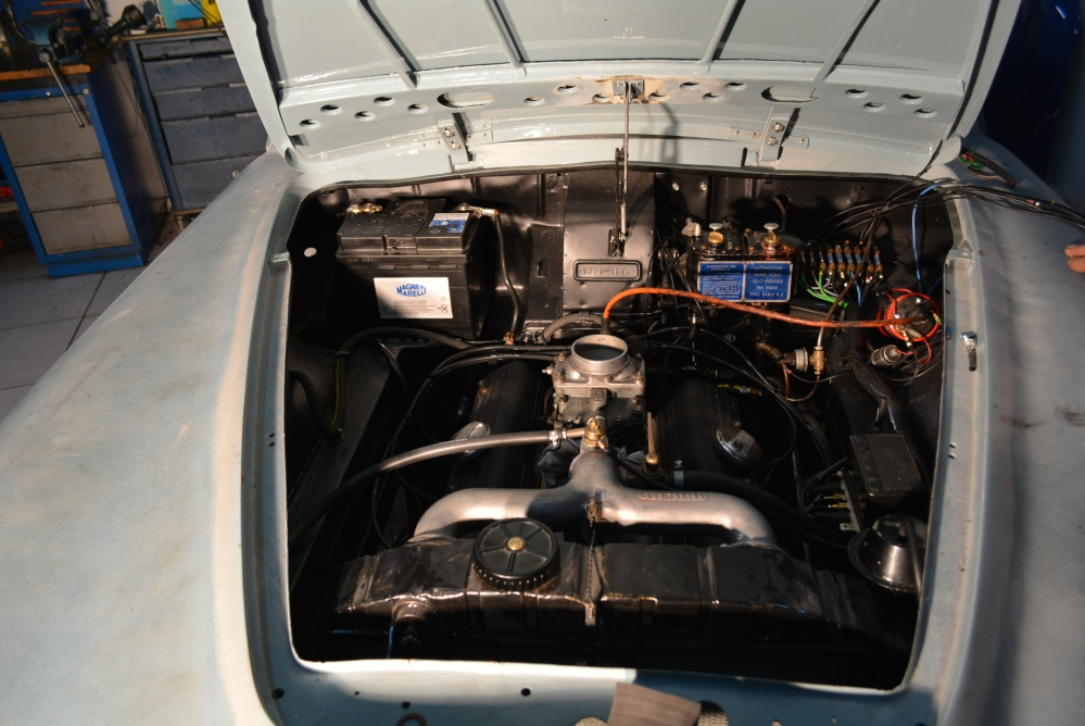 A milestone moment for the 1957 Lancia Aurelia B20S, Ser.VI restoration project (2/6)