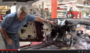 Jay Leno explains about hs choice of Dynamat heat & noise insulation material for all his restoration projects!