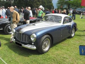 The Ferraric166-Inter Berlinetta by Stabilimenti Farina. See the similarities with the Simca * Sport Coupé?